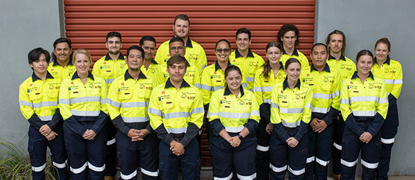 Apprentice Electricians and Engineering - Fabrication Trade apprentices have completed the Prelude to the Future Apprenticeship Program at Charles Darwin University.