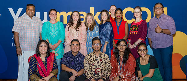 Charles Darwin University (CDU) recently held a special student community event connecting international students to key services while raising much-needed funds for the people of India.