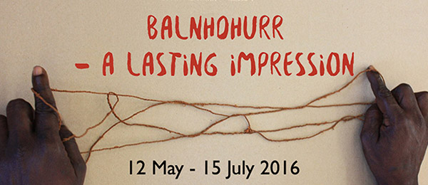 Balnhdhurr – A Lasting Impression will open in the CDU Art Gallery on Thursday