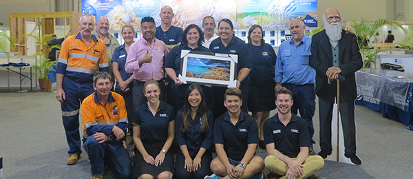 CDU won Best Exhibitor at the 2016 Skills, Employment and Careers Expo in Darwin