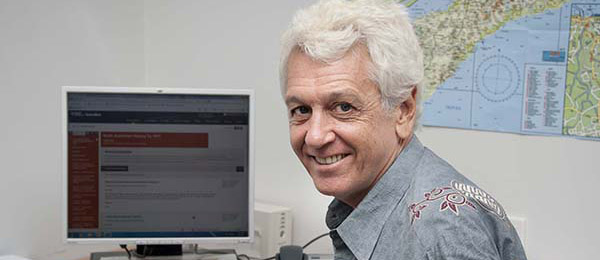 North Australian and Regional Studies lecturer and author Dr Steven Farram