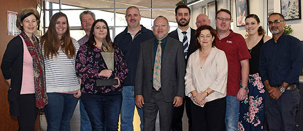 VET faculty executives and the award-winning Tourism and Hospitality Central team
