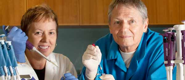Professor Karen Gibb and Professor Keith Christian are investigating the role of microbes in maintaining health and possibly resisting disease
