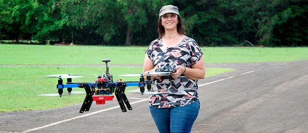 CDU alumnus Dr Renee Bartolo, who has advanced the use of drones in environmental monitoring, has won a prestigious Fulbright Scholarship
