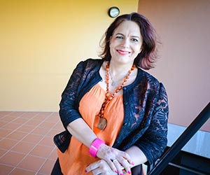 Law lecturer Felicity Gerry QC says Darwin businesswomen are leading the way in equal workplace participation