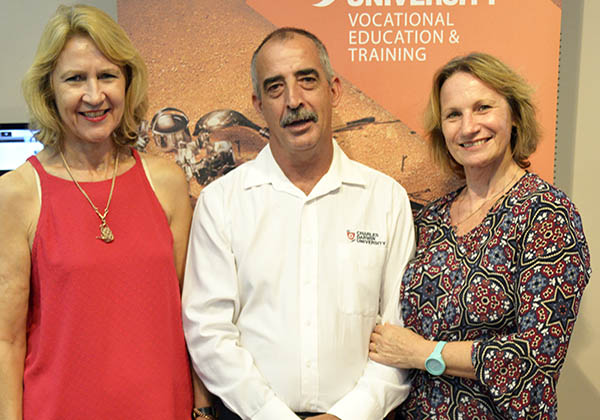 Training Consultant Debbie Hoad, Rob Buttery and Training Consultant Sonia Dunford
