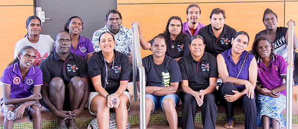Some of the many Indigenous students who participated in the Growing Our Own program.