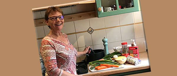 Nutrition lecturer Judith Myers says that using fresh foods is linked to improved immunity