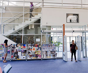 Making the most of the space, resources and services at Palmerston campus library
