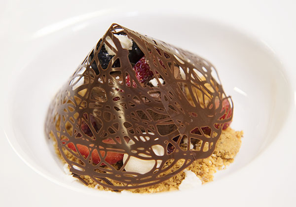 A mouth-watering chocolate dessert