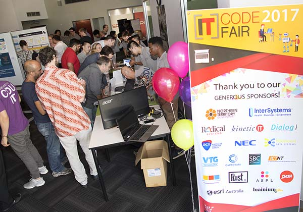 The 2017 IT Code Fair is hailed a success with more than 80 students taking part