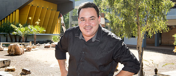 Head of the School of Indigenous Knowledges and Public Policy Dr Curtis Roman