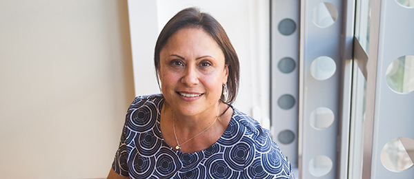 Indigenous Knowledges lecturer Tracy Woodroffe