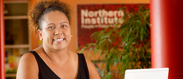 CDU student Dikul Baker has recorded instructional videos about online learning in Yolngu Matha and English