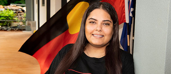 Ruby Jones Hayes is one of around 20 students who will undertake this year's Indigenous Pre-Law Enabling Program