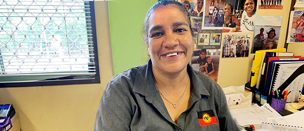 Corrine Coombes, a Garrwa and Yidinji woman, is set to be one of the pre-accounting program's first students