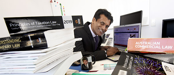 Chair of Accounting and Finance Professor Indra Abeysekera