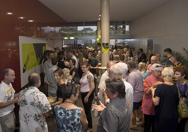 Northern Territory art-lovers turn out in force for the opening of Salon 17