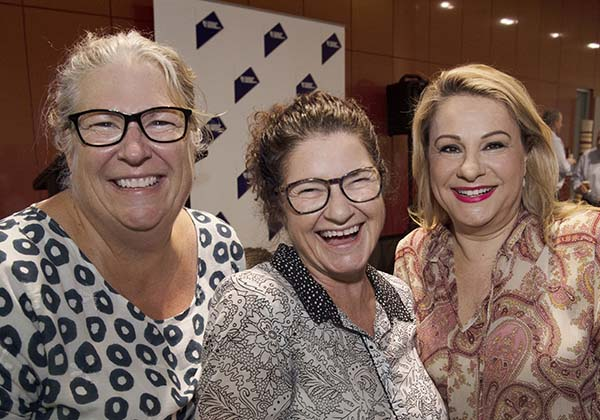 Alison Sellers, Therese Fitzgerald and Anna Ergos