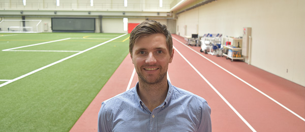 Sam Gleadhill has been hand-picked to work at the prestigious National Institute of Fitness and Sports in Japan