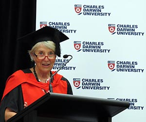 """Deputy Vice-Chancellor Professor Sharon Bell: """"It takes hard work, determination and resilience to succeed"""""""