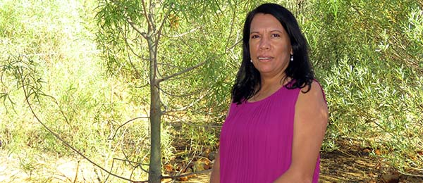 Dr Josie Douglas: examined the social lives of young Aboriginal adults in Central Australia