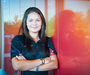Indigenous youth leader Joelene Puntoriero will help build a classroom at an orphanage near the Kokoda Track in Papua New Guinea