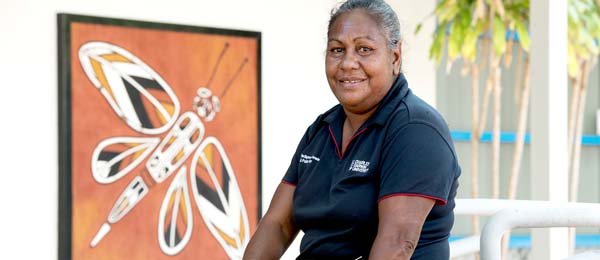 Yolngu Studies Lecturer Brenda Muthamuluwuy says it is important to have an understanding of language and culture when visiting Indigenous communities