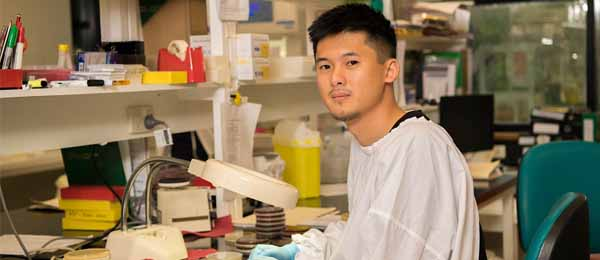 Dr Damian Oyong has made a significant contribution in the fight against malaria