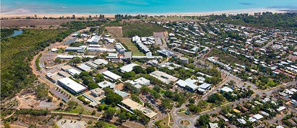 Work is about to start on new masterplans for CDU's Top End campuses including Casuarina campus
