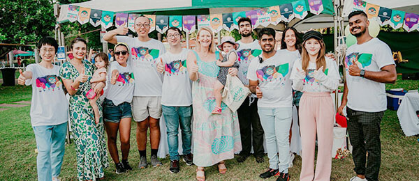 The Kindness Shake team organised the Kindness Festival to celebrate diversity and the international student community.