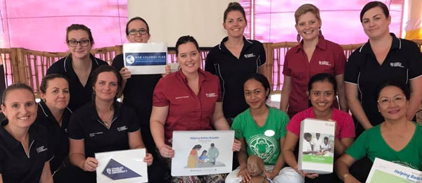 Northern Territory midwives and students are fundraising to bring their Indonesian colleagues to Darwin