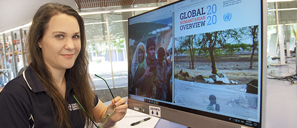 Humanitarian, Emergency and Disaster Management Studies lecturer Miranda Booth helped coordinate the online unit