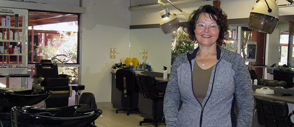 Hairdressing lecturer Monika Bloedorn … brings a wealth of industry experience