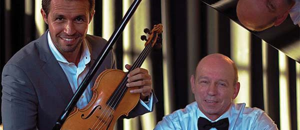 The internationally renowned pianist Marian Pivka and violinist Eliseu Silva will perform at CDU