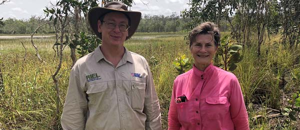 RIEL researchers Dr Sean Bellairs and Dr Penny Wurm