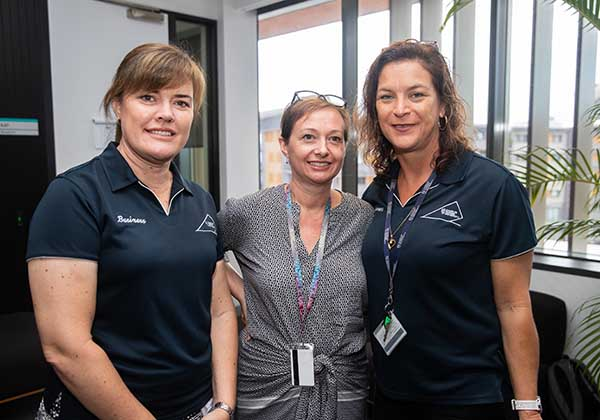 Nicole Lethlean, Janine Bowen and Tammy Healey