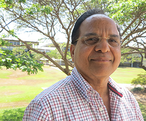 Professor Jai Singh says materials research can improve the quality of life for people worldwide
