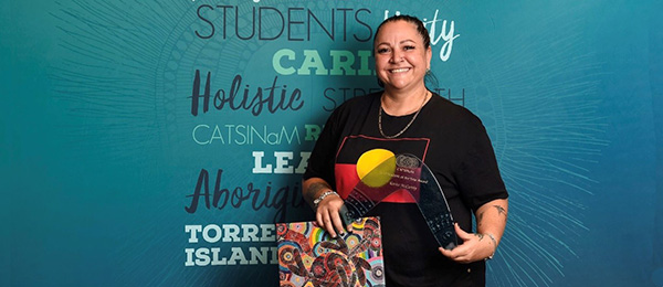 Congress of Aboriginal and Torres Strait Islander Nurses and Midwives Scholar of the Year Karita McCarthy