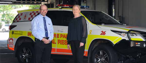 Professor Simon Maddocks and Ms Judith Barker announce the new degree in paramedic science