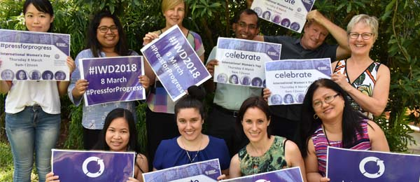 The Northern Institute is gearing up for International Women's Day next month