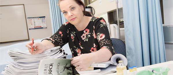 Dr Melanie Underwood has been working to analyse the causes of system failure