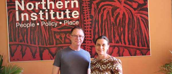 Dr Gary Groot and Professor Ruth Wallace have a shared purpose