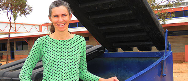 "Ms O'Leary: ""The environmental gains of recycling in Alice Springs outweigh the costs"""