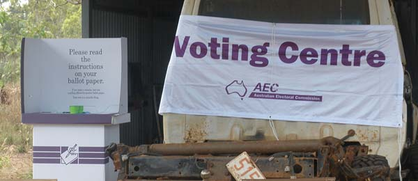 CDU is developing a model that can lift engagement with voting in the bush