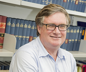 Law lecturer Ken Parish is helping to supervise CDU students volunteering with the firm