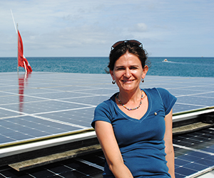 RIEL PhD candidate Veronica Toral-Granda has moved to Darwin from the Galapagos Islands