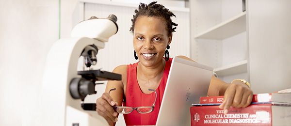 Associate Lecturer Medical Laboratory Science Josephine Muthami