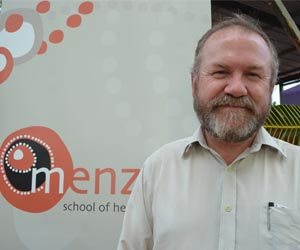 Professor Ross Andrews said the recognition was a fantastic result for Menzies and the project team