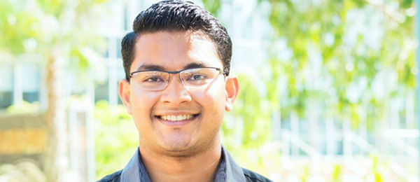 Commerce student Kyaw Naing is a member of the 2017 NT Youth Roundtable